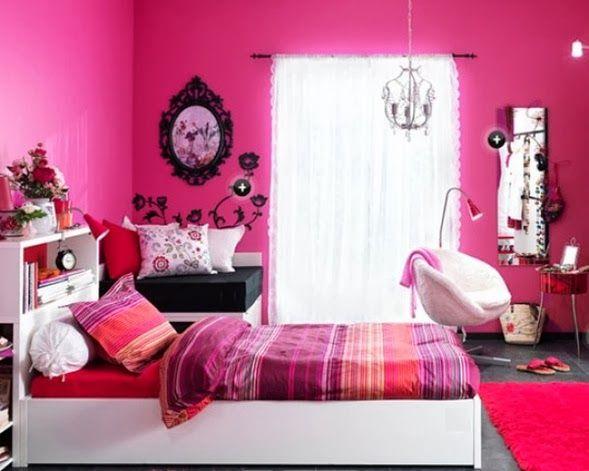 Dormitorios fucsia para ni as agatha pinterest - Combinacion de colores para habitaciones ...