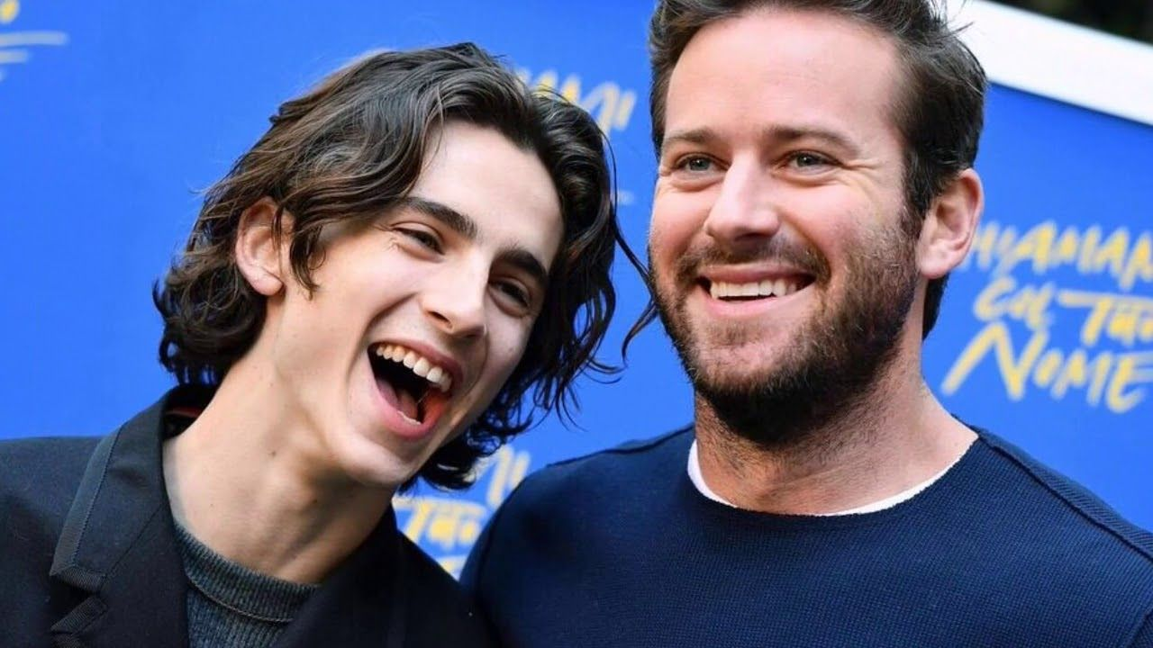Armie Hammer and Timothée Chalamet The Safety Dance