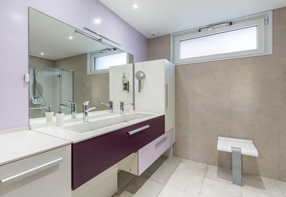 Meuble salle de bain Crédit Photo  Olivier Liévin pour Innov