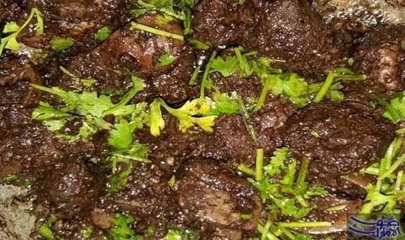 طريقة عمل الطحال المحشى المقادير كيلو طحال كوب بقدونس مفروم كوب كزبرة خضراء ثمانى فصوص ثوم ثمرة فلفل حار على حسب الرغبة نصف Food Meat Beef
