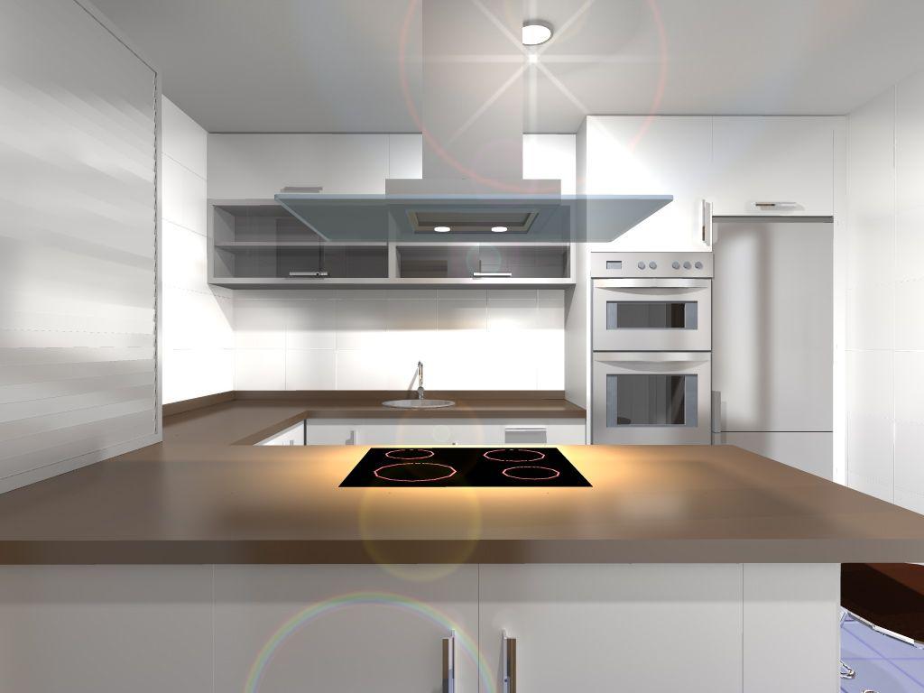 Decoracion #Moderno #Cocina #Encimeras #Dibujos #Estanterias ...
