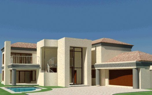 4 bedroom house plan, double storey House plans south ...