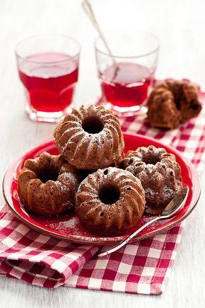 little Chocolate Bundt Cakes
