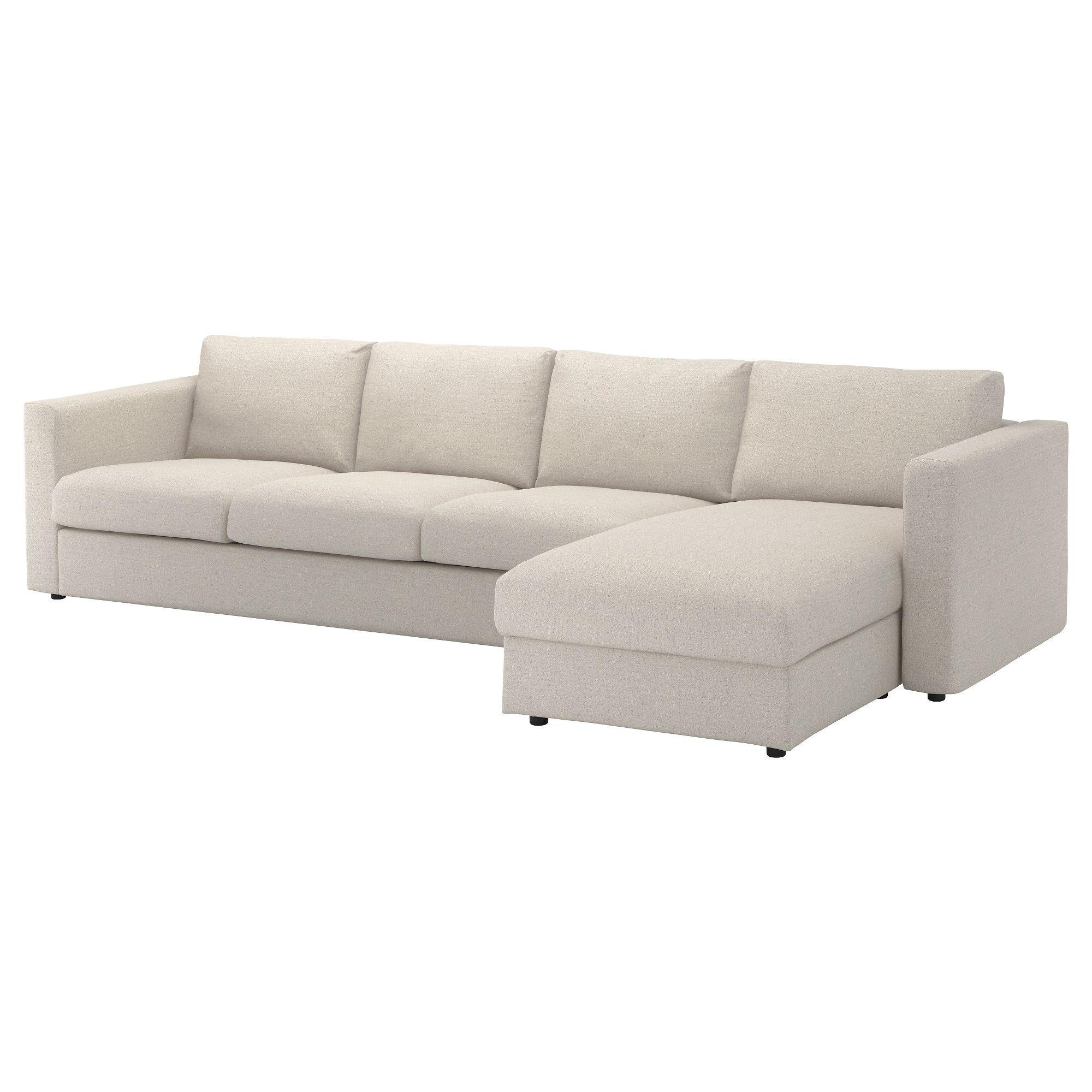 VIMLE, 4er-Sofa, mit Récamiere, beige Jetzt bestellen unter: https ...