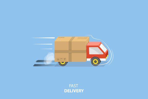 Fast Delivery Service Con Imagenes Fletes Y Mudanzas Gestion
