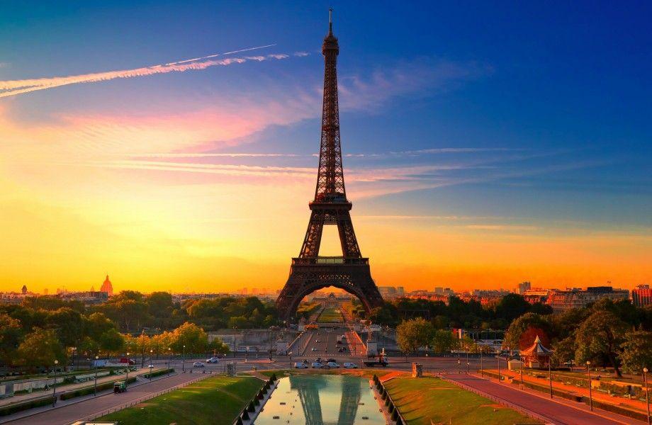 Paris Sunset 4k Ultra Hd Wallpaper 4k Wallpaper Net Viagens O Turista Lugares Para Visitar