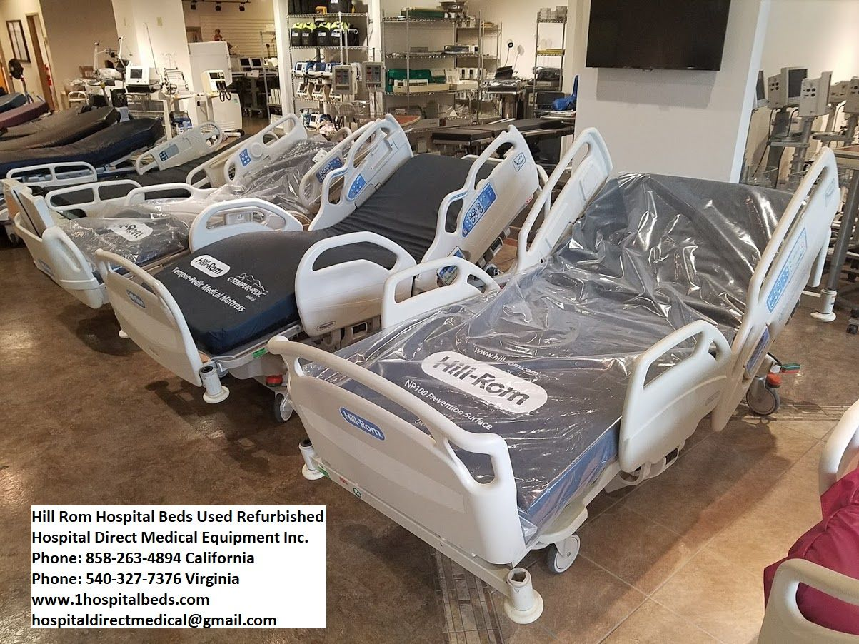 Hospital Beds Reconditioned, used electric hospital beds