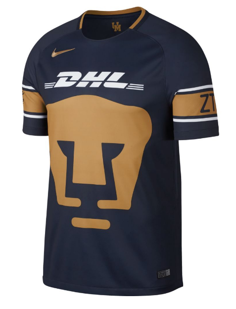 The 2017 18 Pumas UNAM Stadium Away Men s Soccer Jersey is made with  lightweight sweat-wicking fabric to help keep you cool 54f2f4f48a623