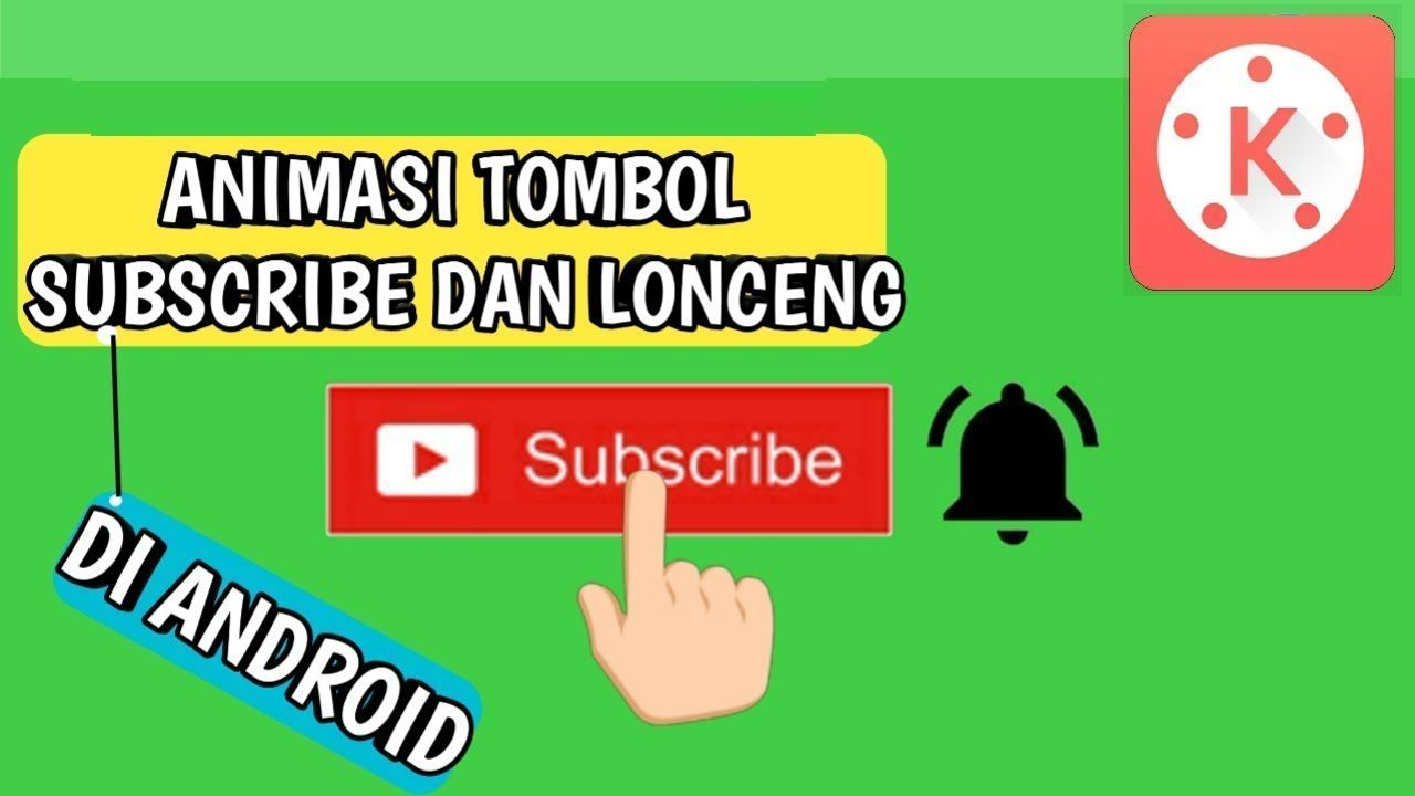 Cara Membuat Animasi Tombol Subscribe Dan Lonceng Di Android Tutorial Tombol Android Membaca