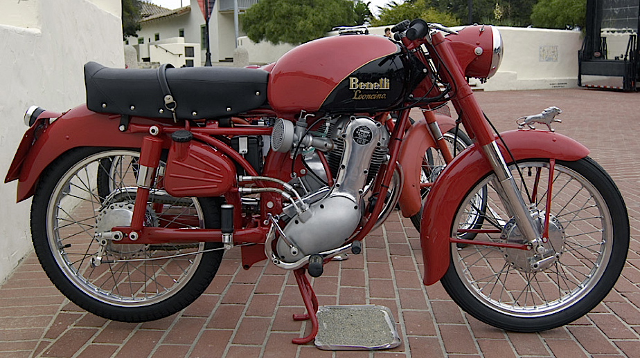 Benelli 125 Leoncino 1956 Italia Gold Wing Motorcycles