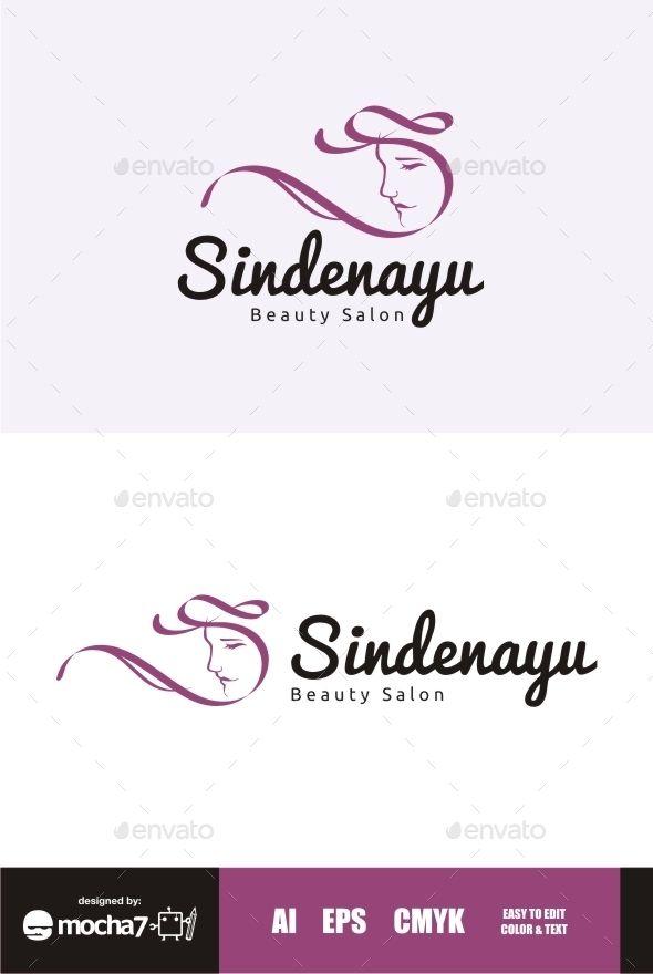 Sindenayu Beauty Salon Logo  Salon Logo Salons And Logo Templates