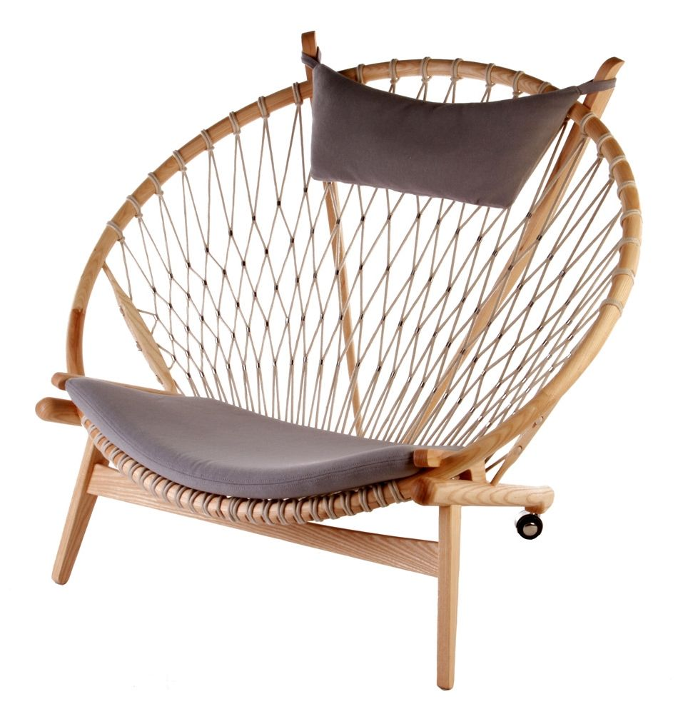 Circle Chair replica hans wegner circle chair - matt blatt | living room