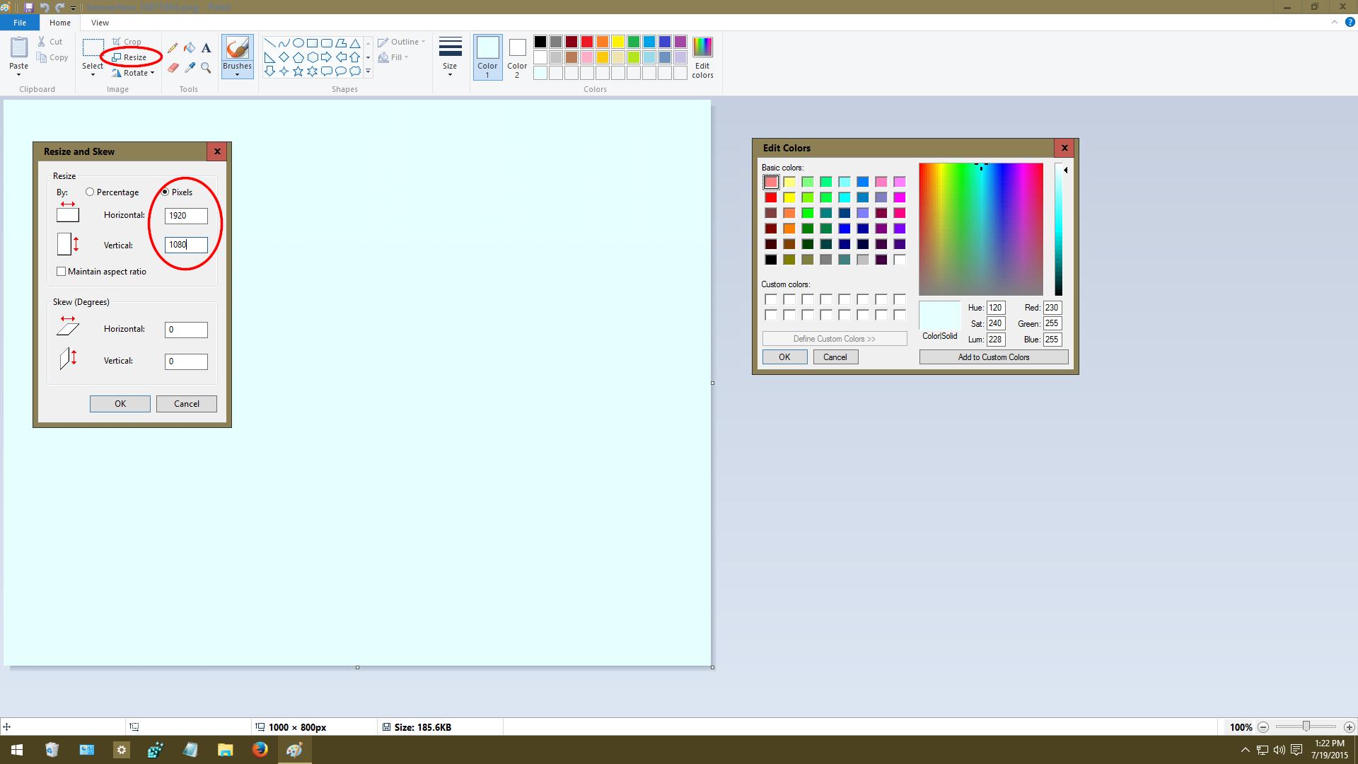 Change Desktop Background In Windows 10 Windows 10 Customization Desktop Wallpaper Size Desktop Wallpaper Size