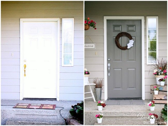 Great Front Door Painted In Sandtex 10 Year Exterior Satin In Bay Tree | Thereu0027s  No Place Like Home | Pinterest | Front Doors, 10 Years And Doors