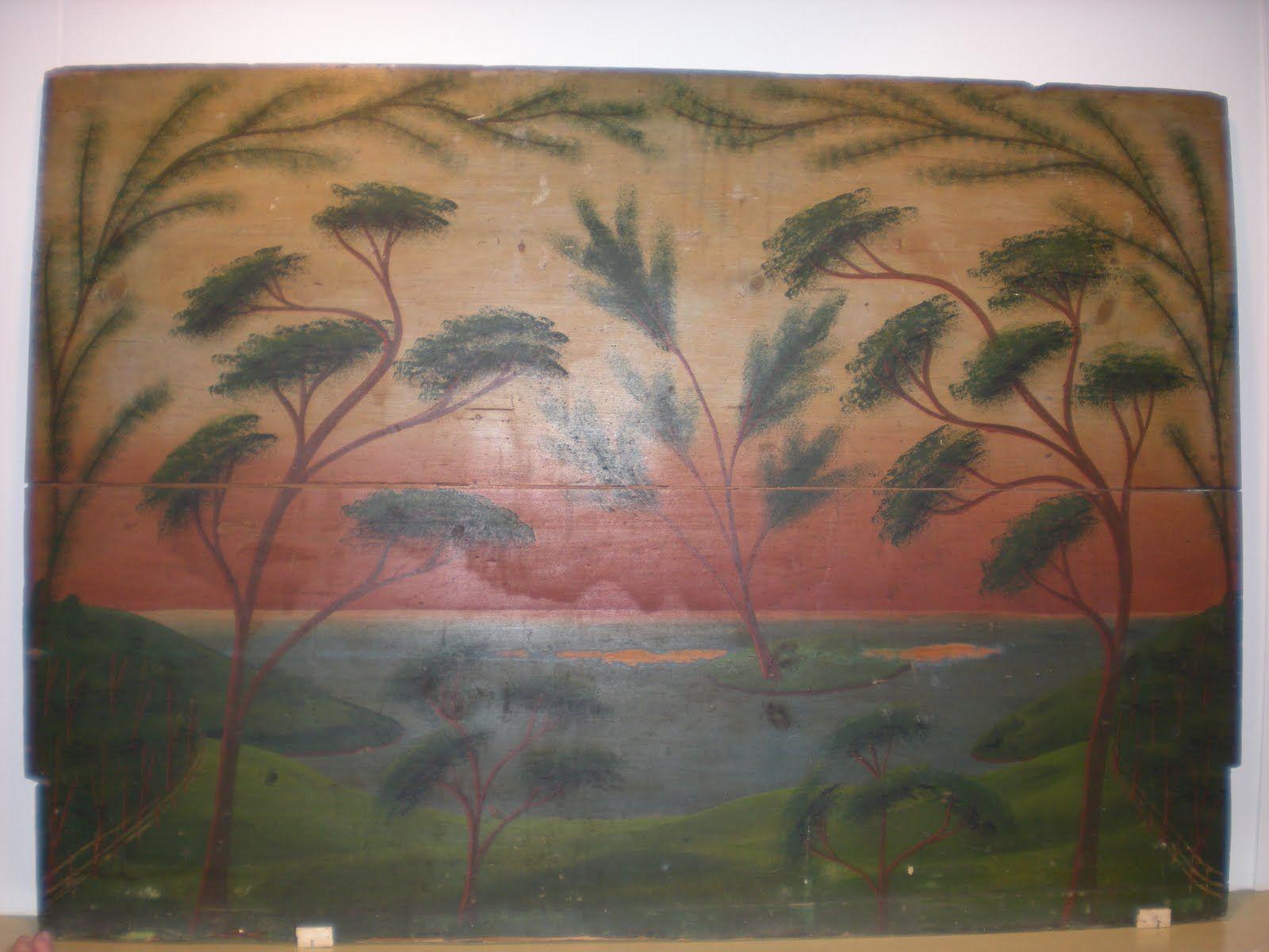 antique fireboard Google Search American folk art