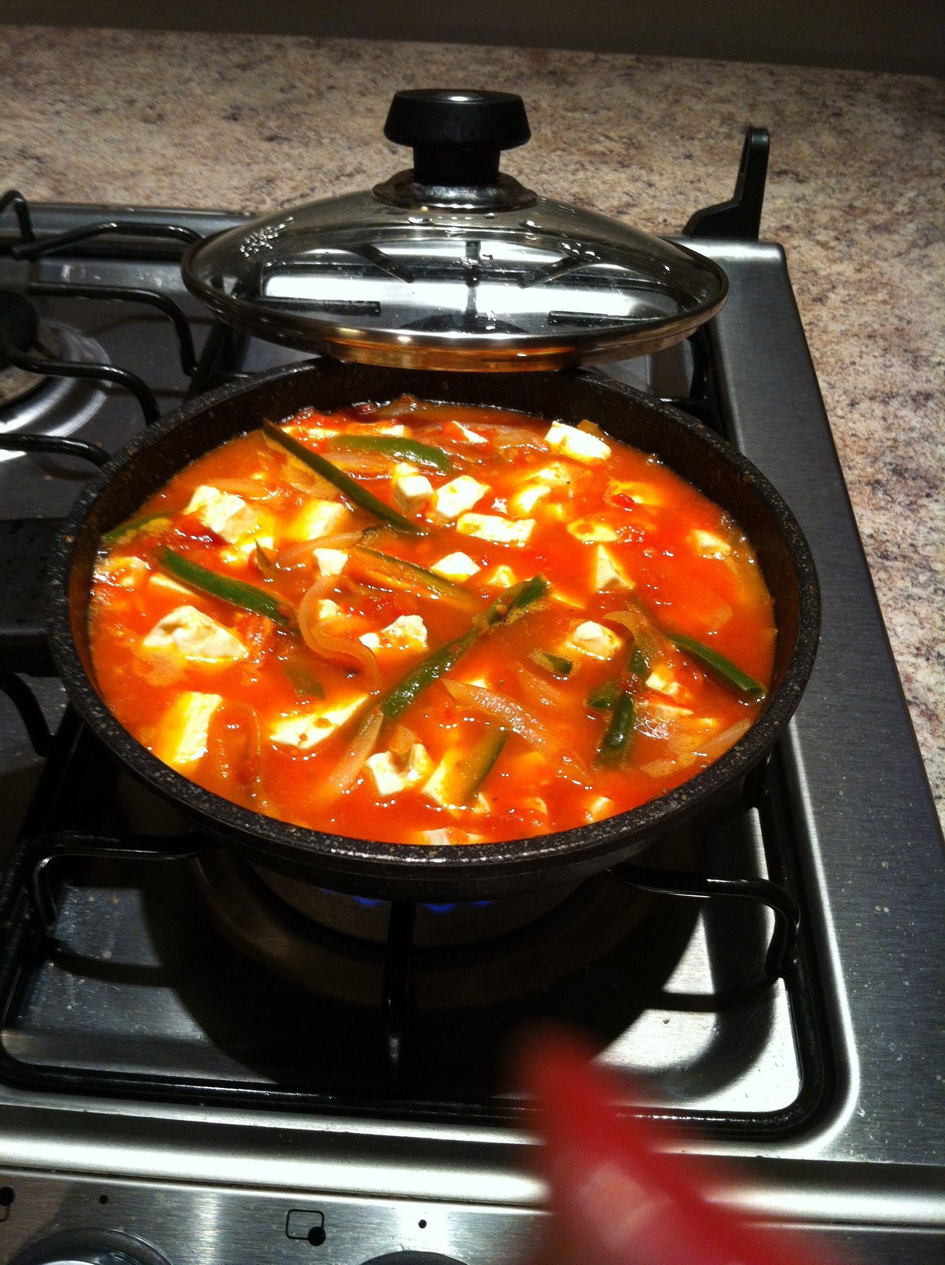 Queso Panela En Rajas Y Salsa De Tomate Recetas De Cocina Comida Comida Mexicana