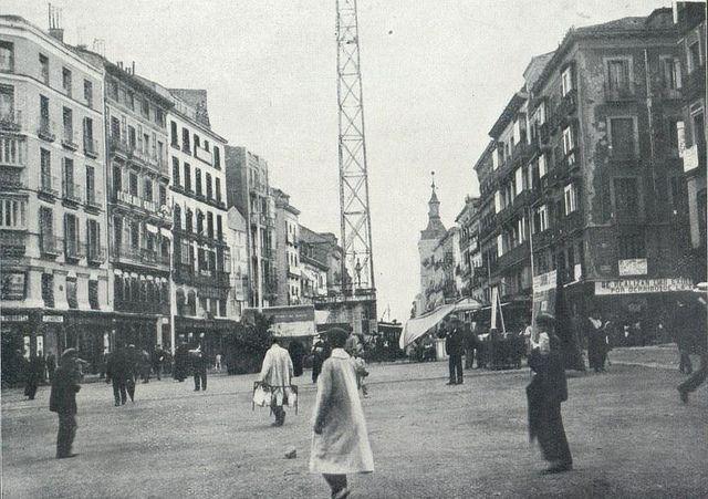 1917. Antes de la Gran Vía. La Red de San Luis | Flickr: Intercambio de fotos