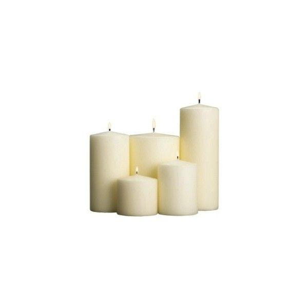 Pillar Candle 6 0cm X 15 0cm Ivory Pillar Candles Restaurant
