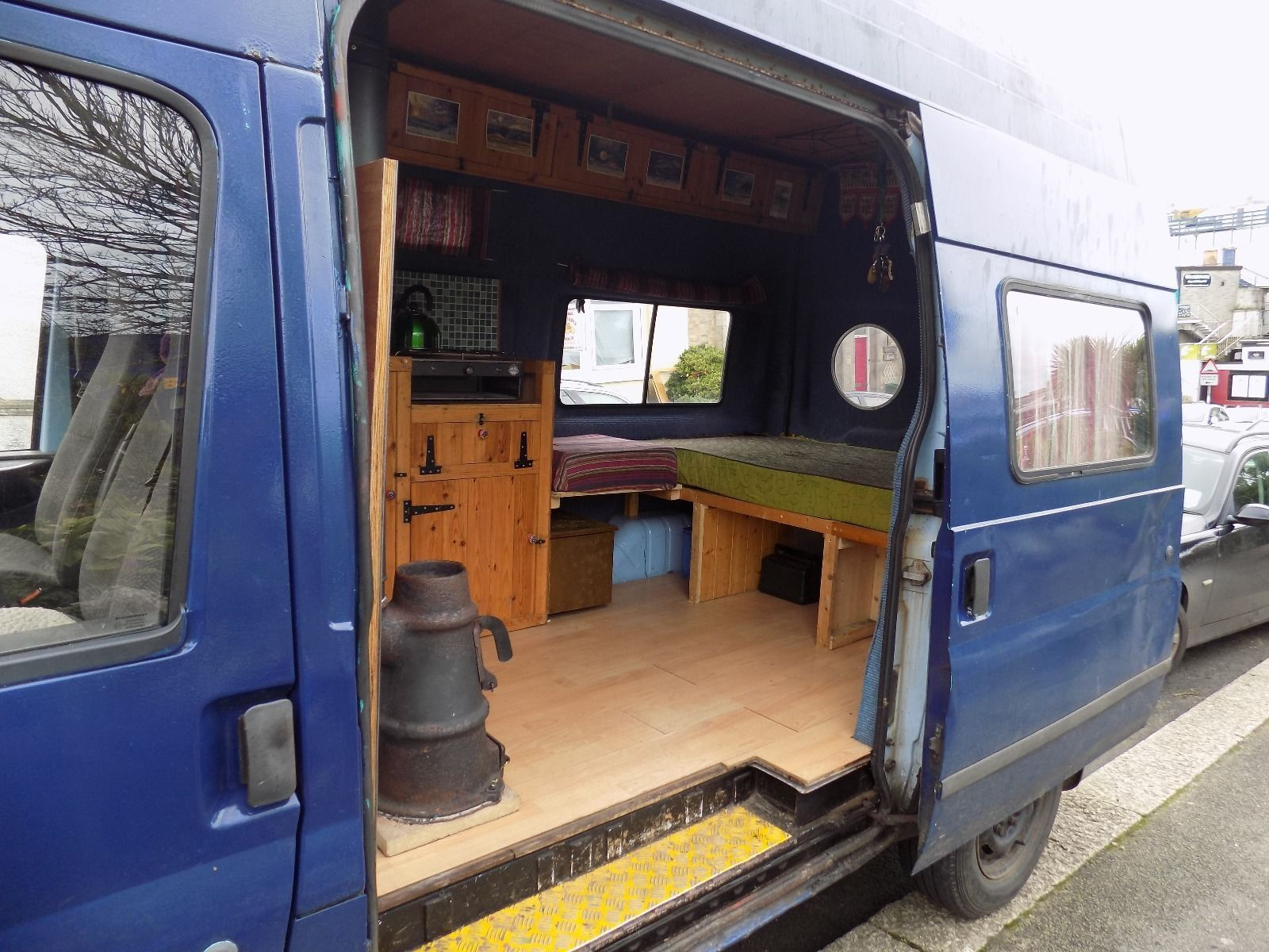 Ford transit camper conversion hippy festival surf bus in cars motorcycles vehicles campers caravans motorhomes campervans motorhomes ebay