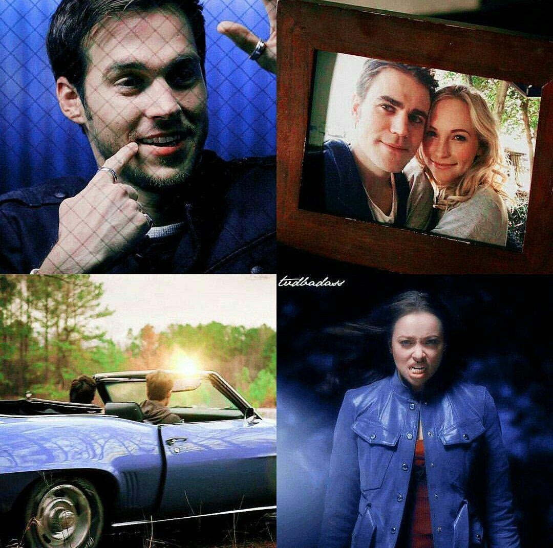 Cenas Da Oitava Temporada De The Vampire Diaries Vampire Diaries