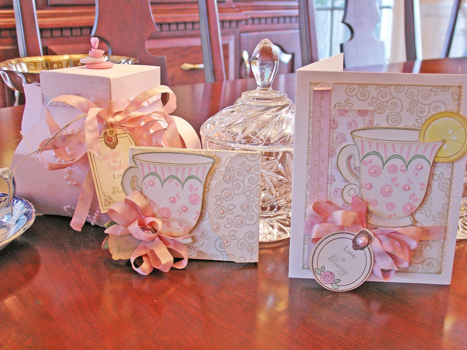 teacup shower favors | Can you believe this template???? And I LOVE ...