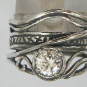 Silver jewelry | Boho ring | handcrafted jewelry