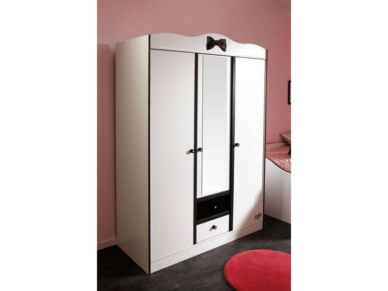 soldes armoire conforama achat armoire 3 portes 2 tiroirs. Black Bedroom Furniture Sets. Home Design Ideas