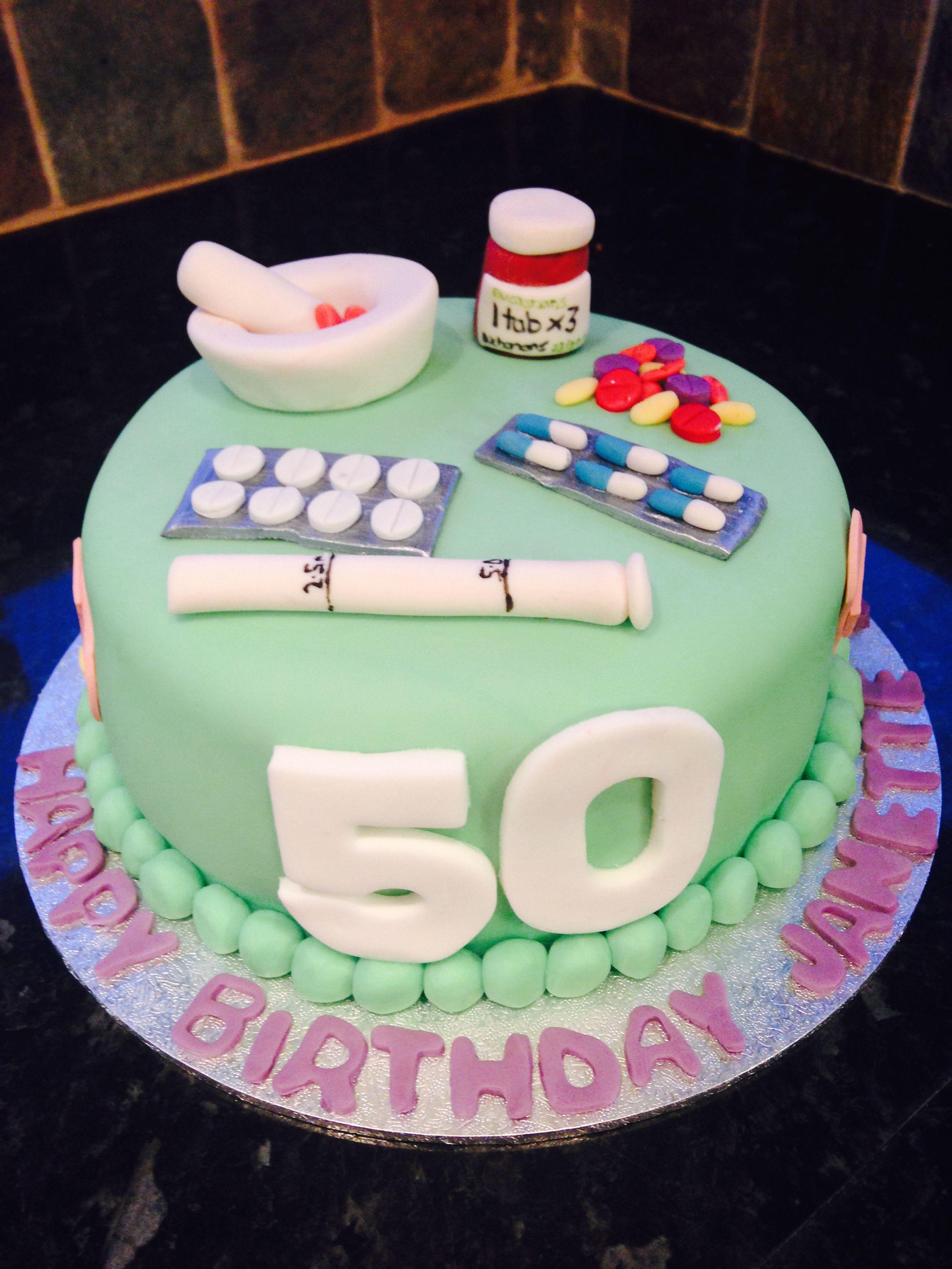 Pharmacist Birthday Cake Birthdays Themed Cake