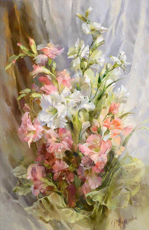 Vugova Rimma Image Fleur Art Floral Peinture Fleurs
