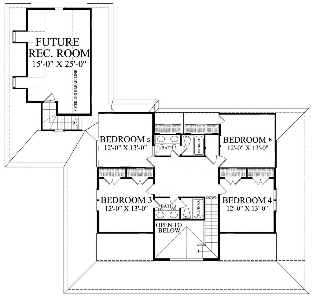 2nd floor modification.  2nd bathroom and 2 bedrooms