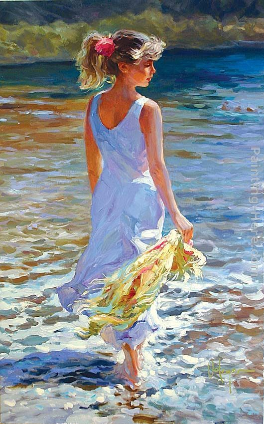 Vladimir Volegov ~~ Low Tide  Clearly the above is the ghost name Connor Kennedy uses to paint Taylor's Swift by the sea, a series.