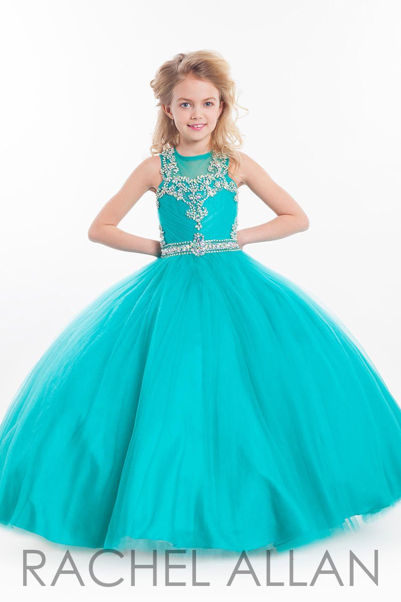 Rachel Allan Perfect Angels Dress Style 1605 | Blue Bandit ...