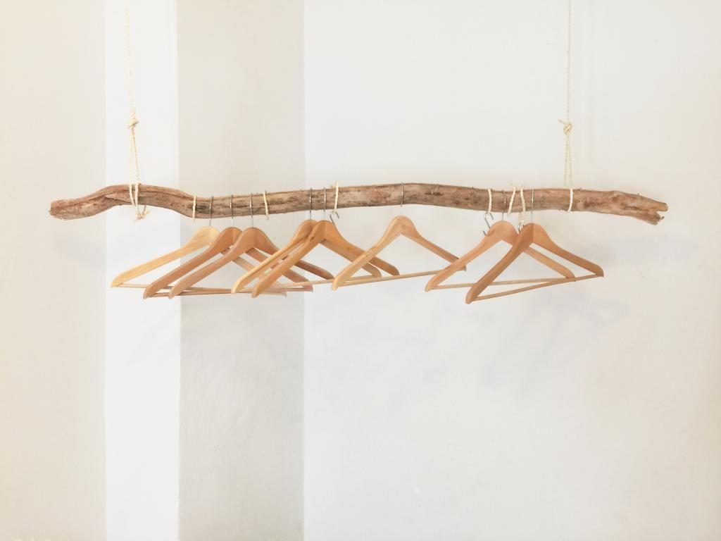 Derzeit sehr beliebt unter den DIY-Ideen: die Kleiderstange aus ...