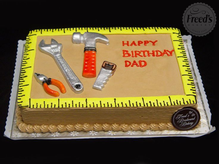 Image Result For 65 Year Old Handyman Birthday Cake Ideas