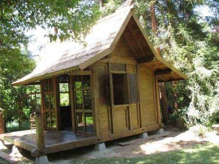 Tiny house House and Teak on Pinterest