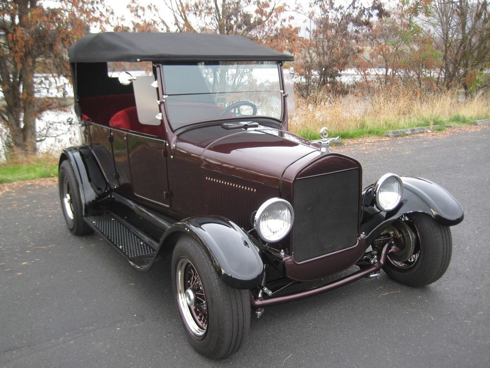 Ad 1927 Ford Model T Custom Street Rod 1927 Ford Model