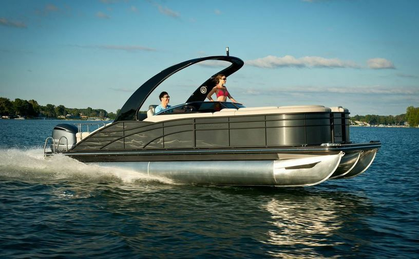Luxury On The Water Means Driving A Bennington Pontoon Boat