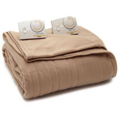 Biddeford Blankets Comfort Knit Heated Blanket Heated Blanket