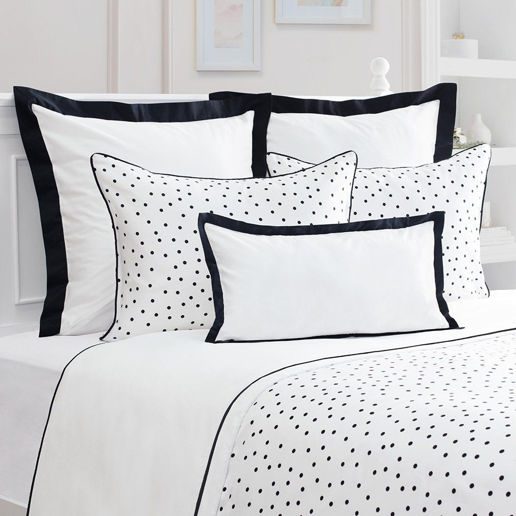 Bedroom Inspiration And Bedding Decor The Harper Black And White Duvet Cover Crane And Can White Bed Covers Duvet Cover Master Bedroom Black Master Bedroom