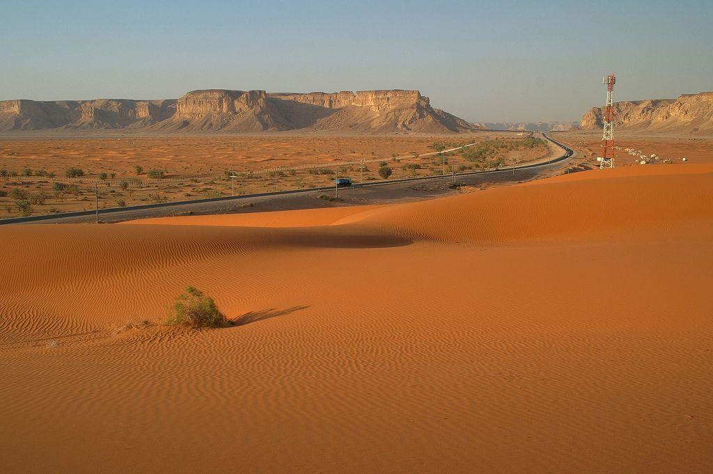 saudi arabia geography