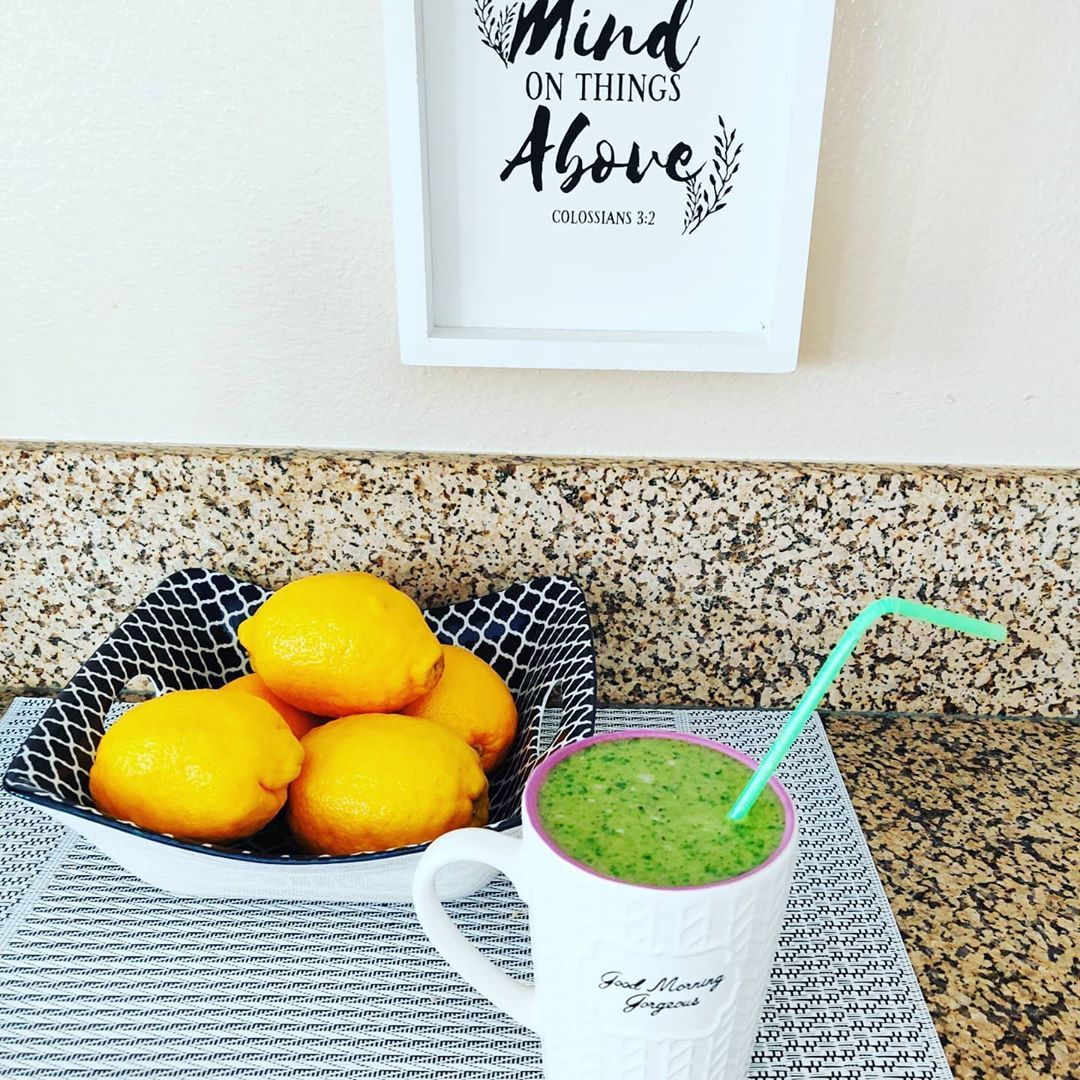 The Anti-Coffee Morning Health Smoothie:  #anticoffee #fitness #food #foodart