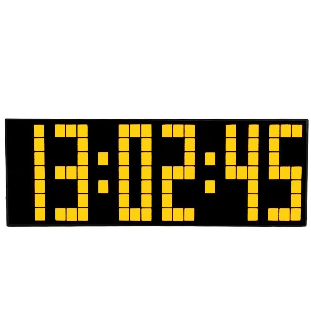 Digital Large Digit Led Snooze for Bedroom Alarm Clock Wall Clock ...