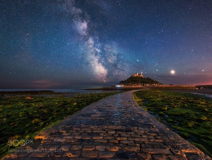 St Michael's Way  It's been a blast being published in the 5 major newspapers in UK and I had a lot of request from all around the world for prints and people texting me and congratulating for the huge coverage of one single night spent in this beautiful location in Marazion down in Cornwall!  Camera: NIKON D750 Lens: 17.0-35.0 mm f/2.8 Focal Length: 17mm Shutter Speed: 240sec Aperture: f/7.1 ISO/Film: 500  Image credit: http://ift.tt/2alAqRq Visit http://ift.tt/1qPHad3 and read how to see…