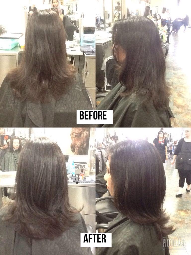 How To Soften A Blunt Haircut : soften, blunt, haircut, Haircutting