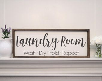 Laundry Sucks Since Forever - Laundry Room Decor - Custom Rustic Wooden Sign - Made to Order - Home Decor
