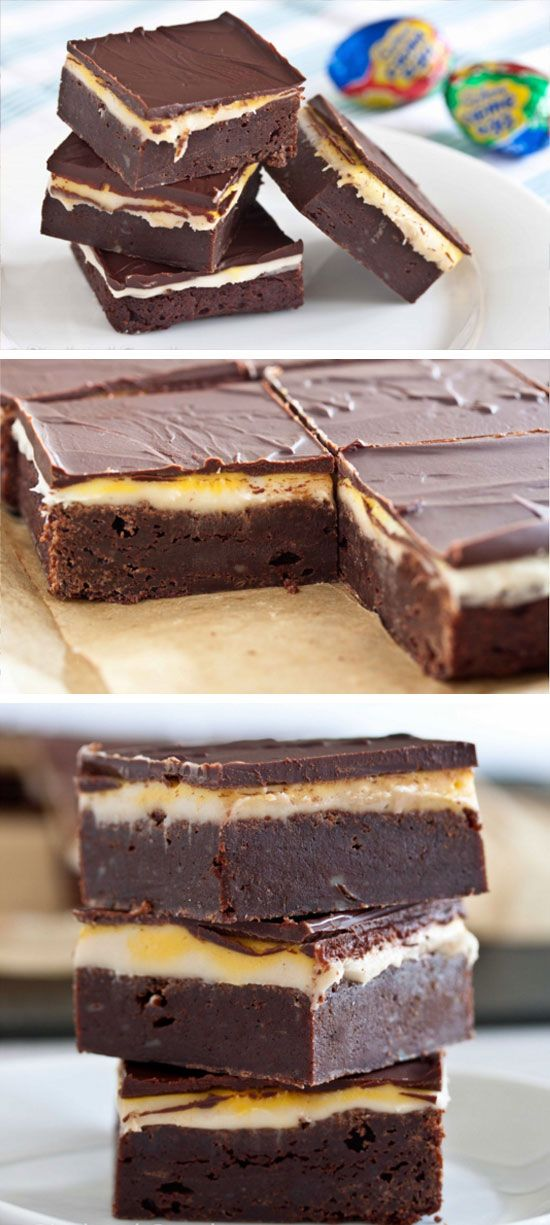 Cadbury Egg Brownies | Easy Easter Desserts for Kids to Make