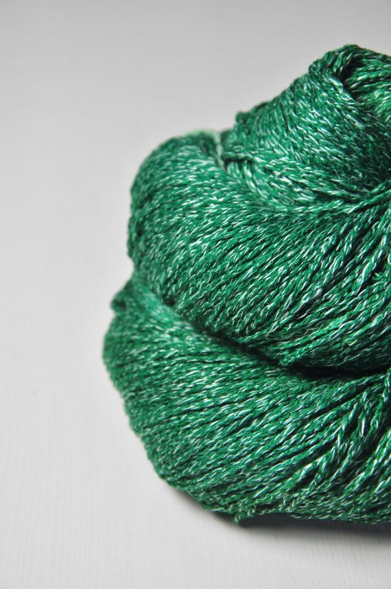 Absinthe - Silk/Linen Fingering Yarn