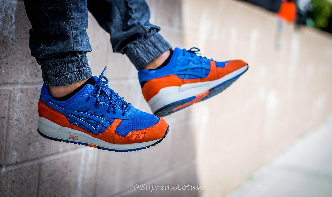 Knicks. Asics x Ronnie Fieg. #sneakers