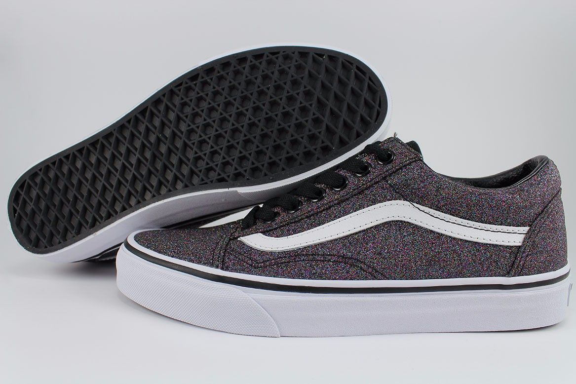 51cbad433f75 Image result for black glitter vans