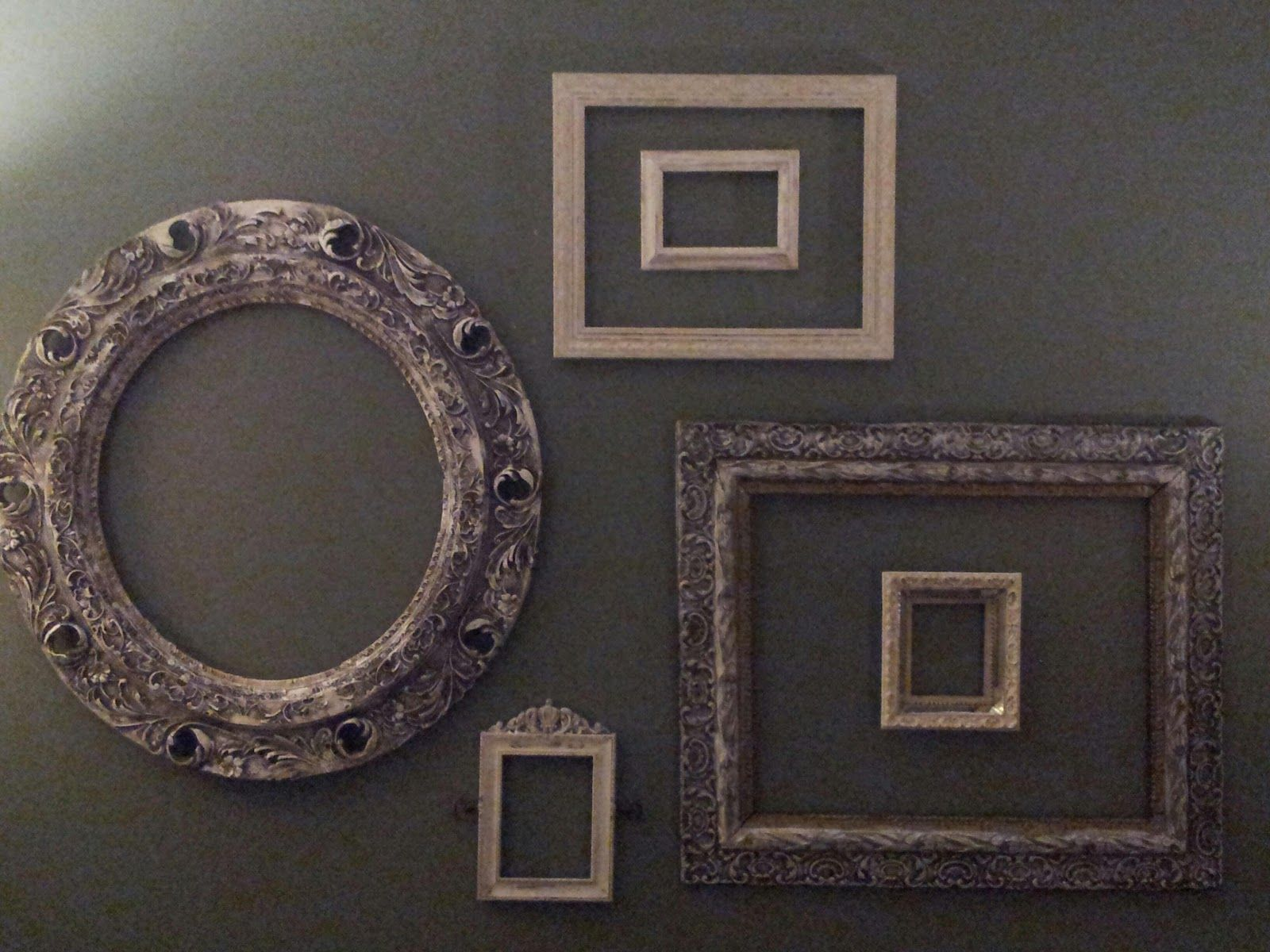 Simply Homemade Simply Decorating With Empty Frames